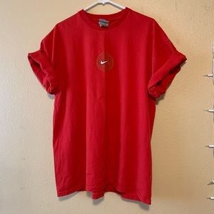 Nike Vintage Red Oversized T-Shirt